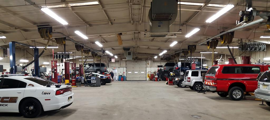 Division of Fleet Services repairs Monmouth County vehicles